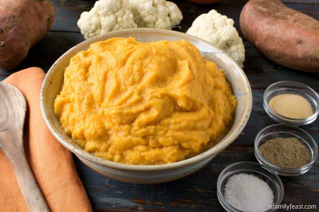Sweet Potato Cauliflower Mash
