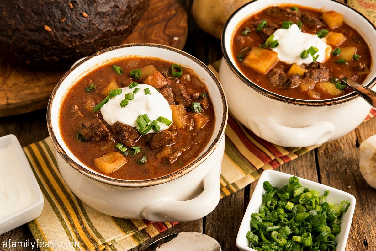 Beef Goulash Soup - A Family Feast