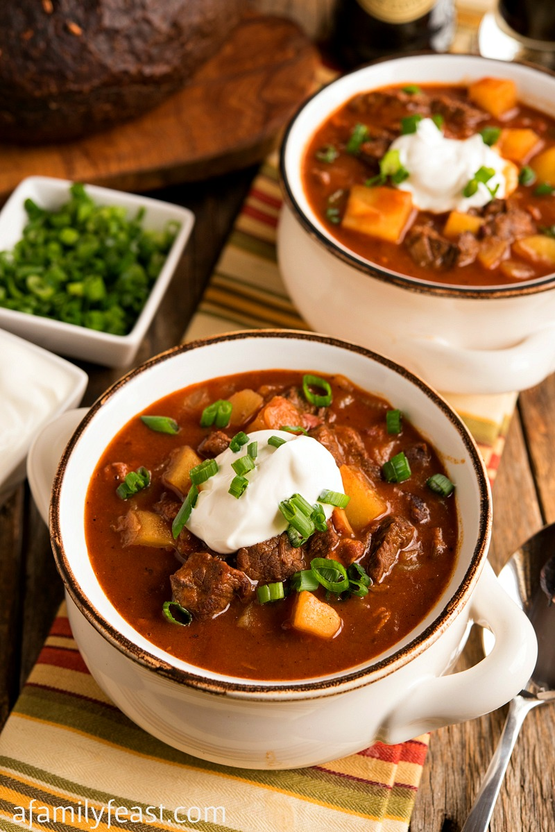 Beef Goulash Soup
