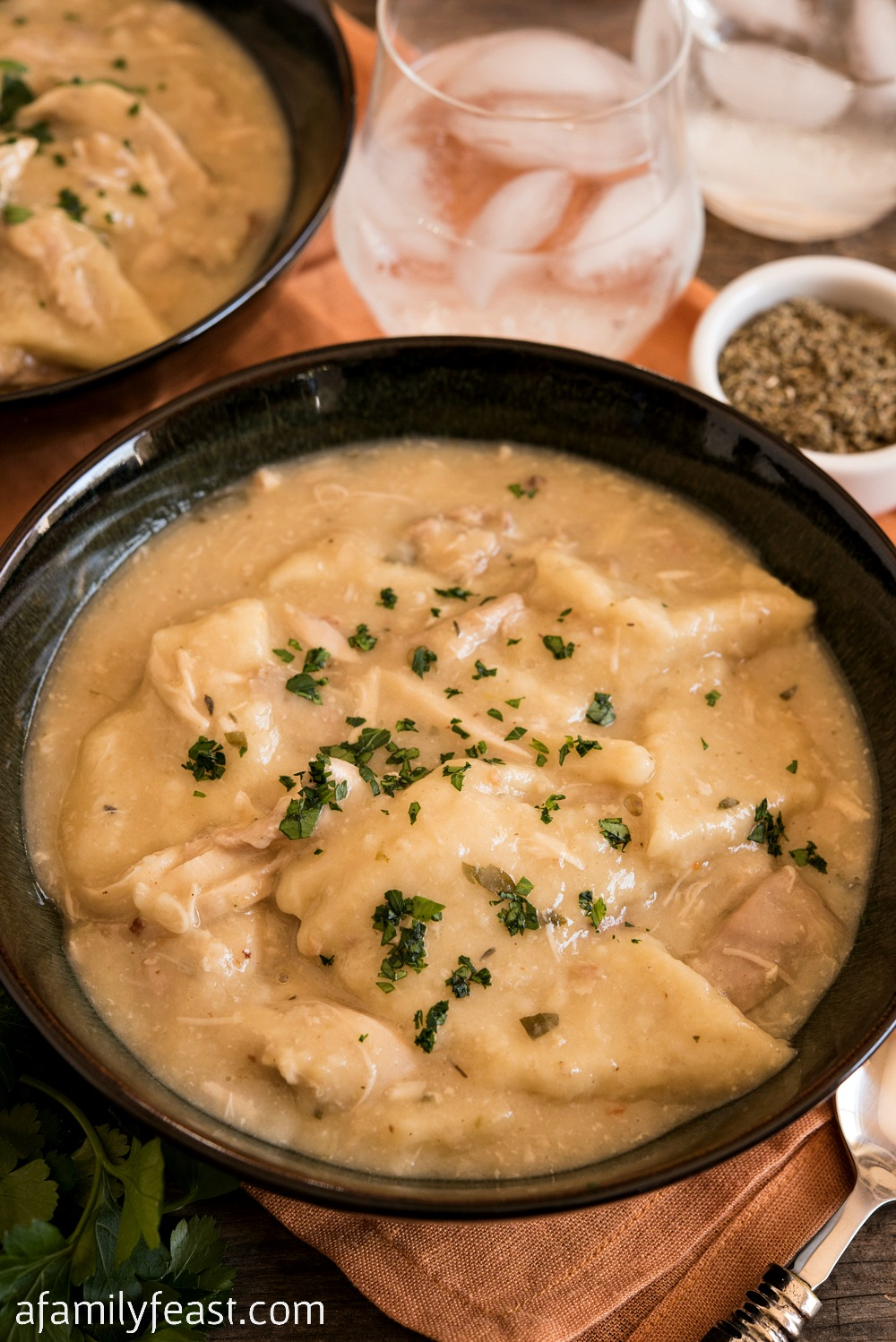 Chicken with Sage Dumplings