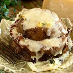 Sliced Potatoes with Herbs and Cheese