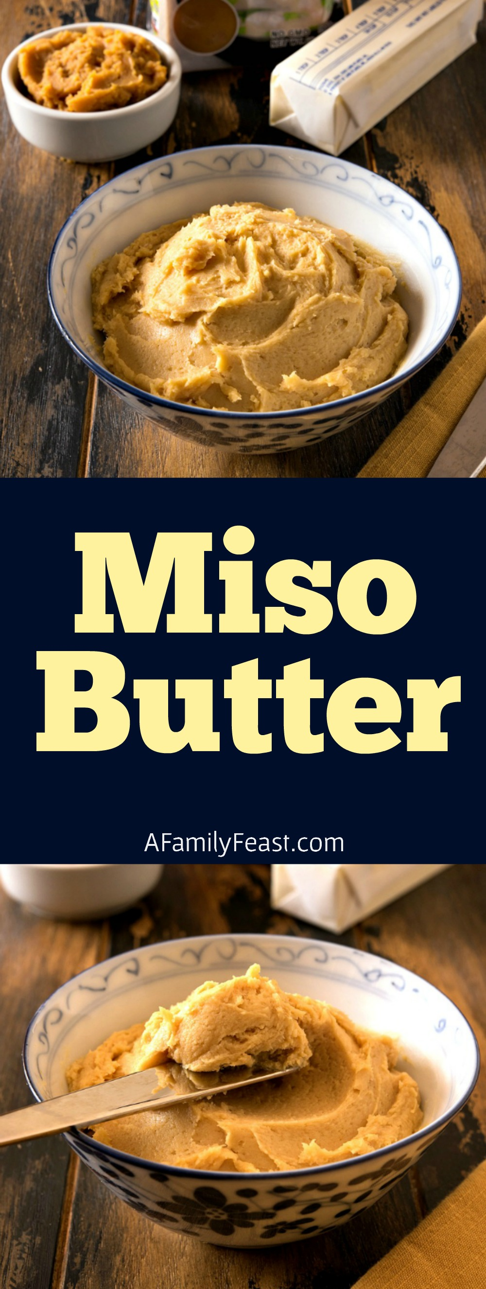 How to make homemade Miso Butter.