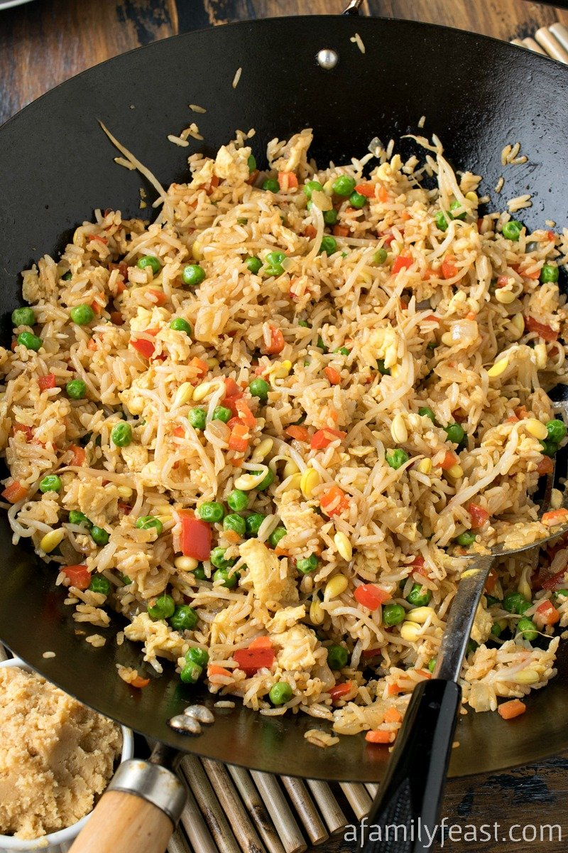 Miso Fried Rice - A Family Feast®