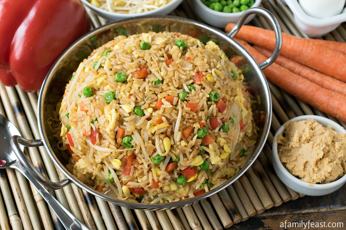 miso fried rice a family feast
