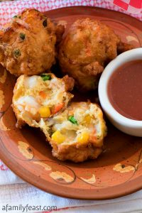 Chamorro Shrimp Patties
