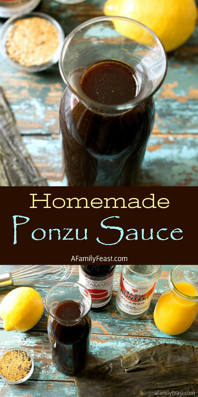 homemade Ponzu Sauce