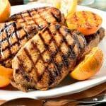 Ponzu Grilled Pork Chops