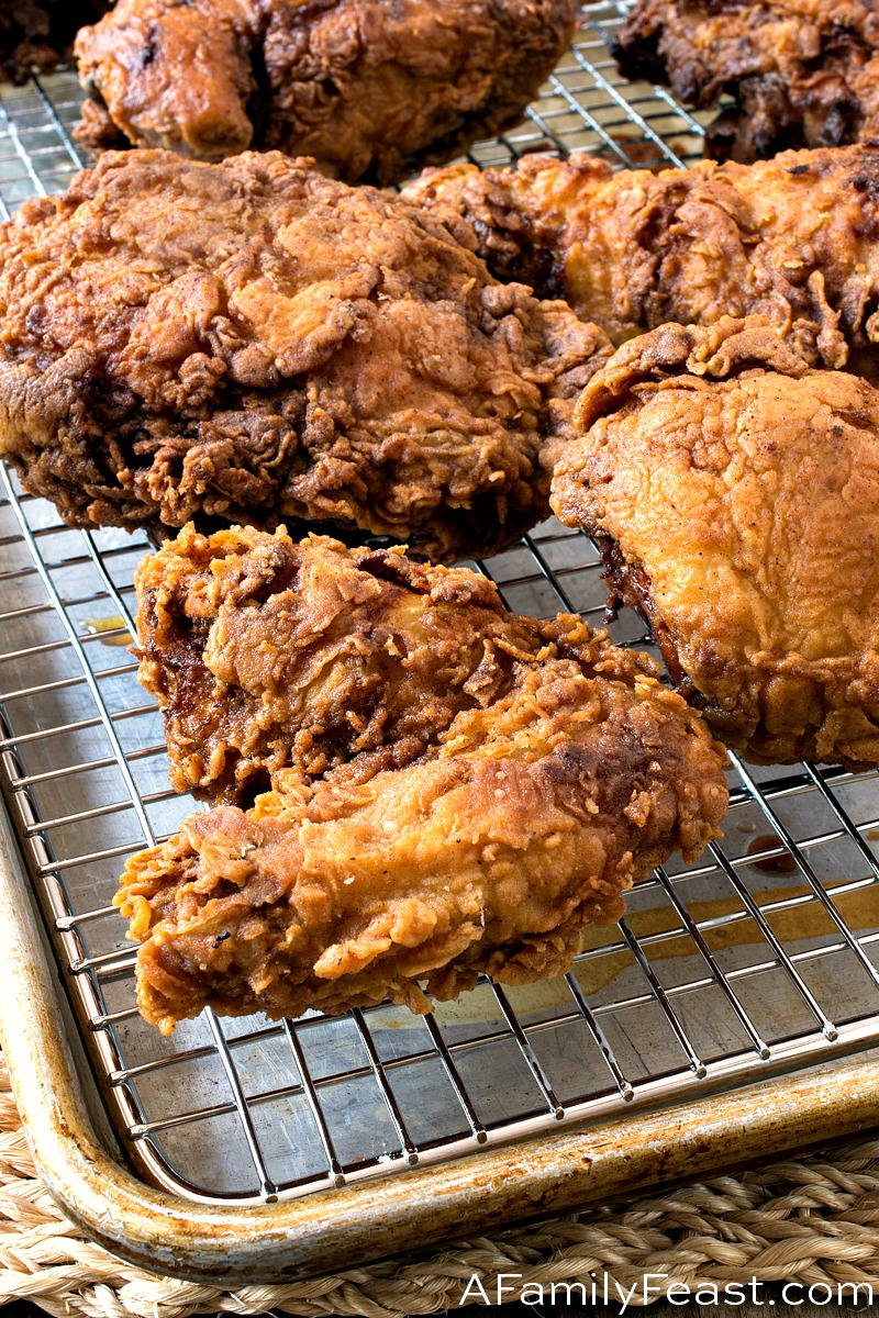Buttermilk Fried Chicken - A Family Feast