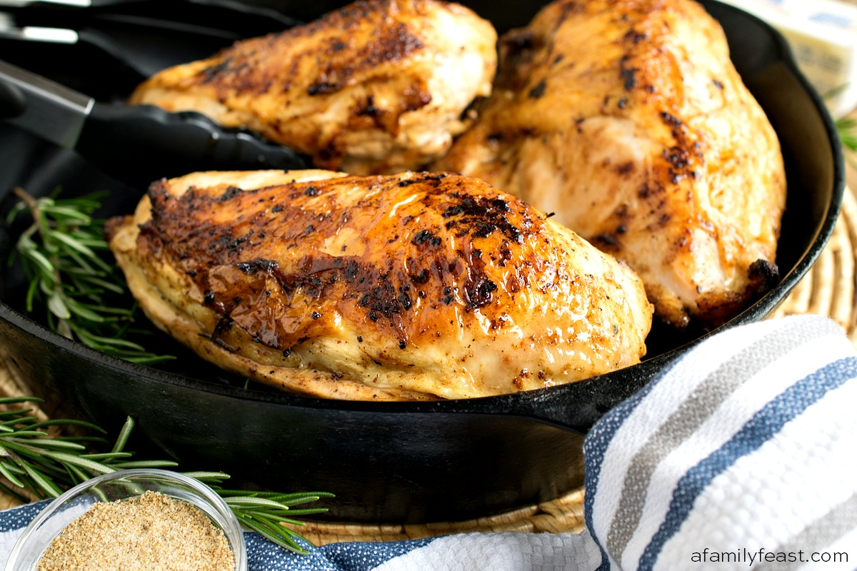 Cast Iron Chicken on the grill or in the oven