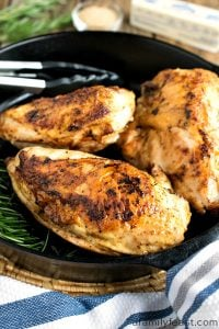 Cast Iron Chicken