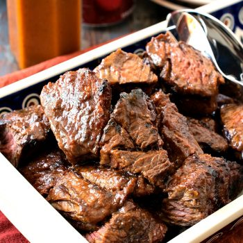Dr Pepper Grilled Steak Tips