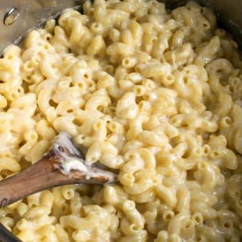 Stovetop Macaroni and Cheese