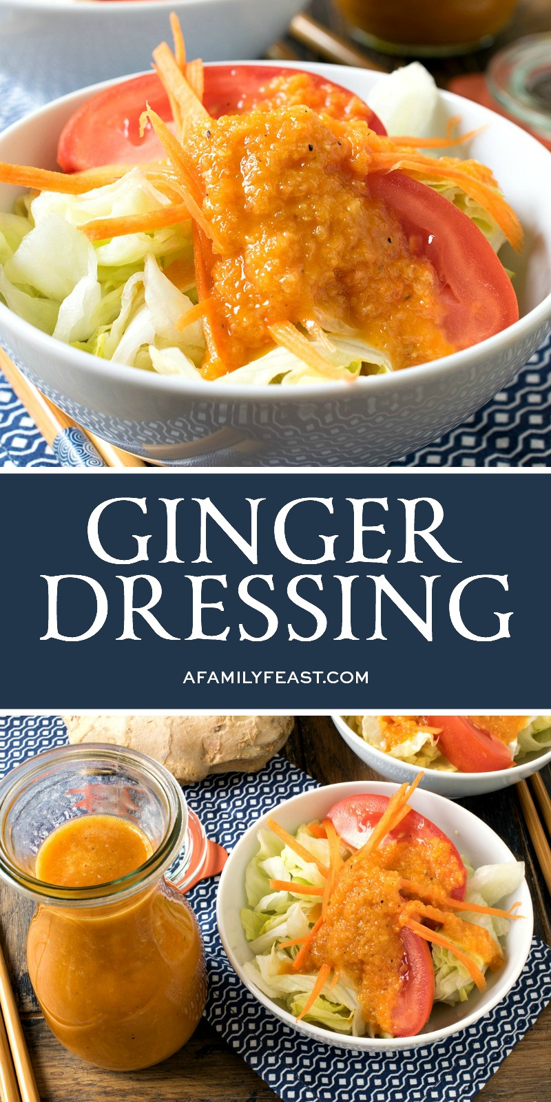 Ginger Dressing A Family Feast