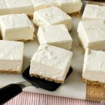 No-Bake Greek Yogurt Cheesecake Squares