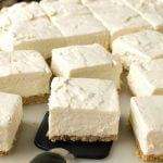 No-Bake Greek Yogurt Cheesecake Squares