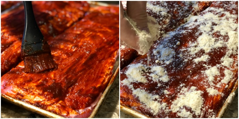 Sweet and Spicy Smoked Pork Ribs - A Family Feast