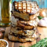 Grilled Porterhouse Pork Chops