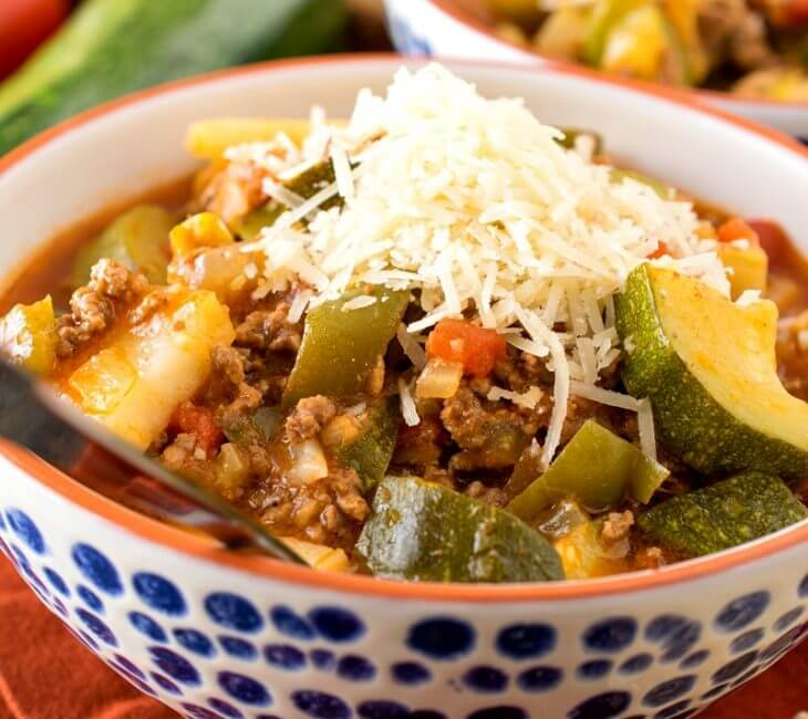 Italian Zucchini Stew