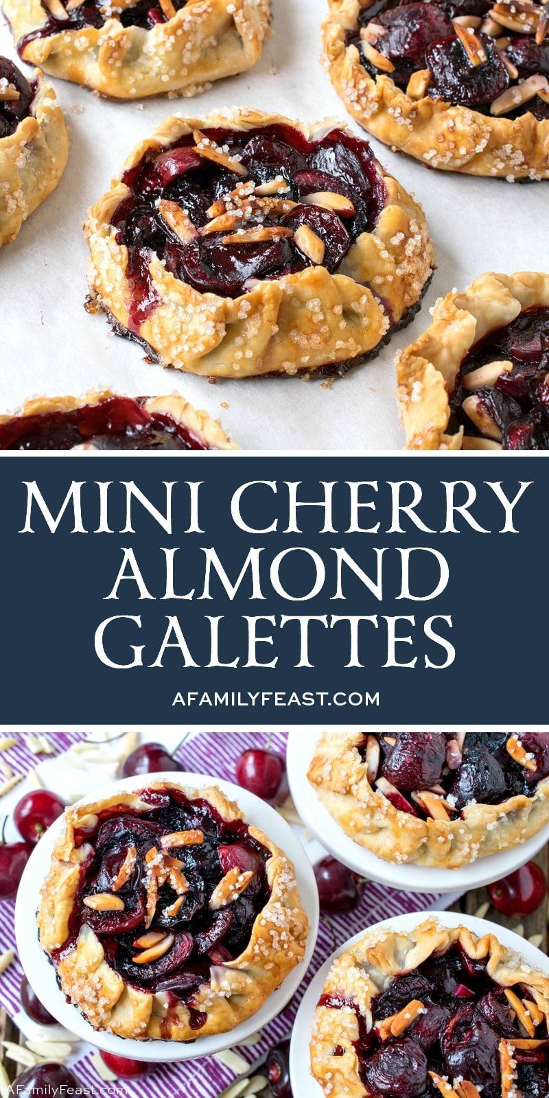 Mini Cherry Almond Galettes