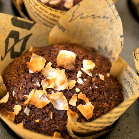 Coconut Oat Bran Muffins