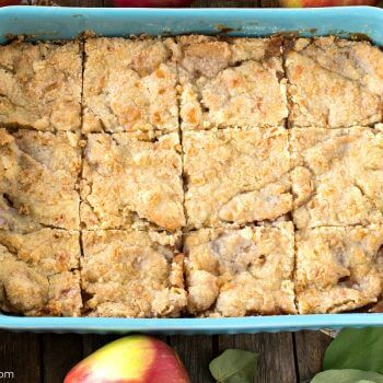 Apple Kuchen Bars