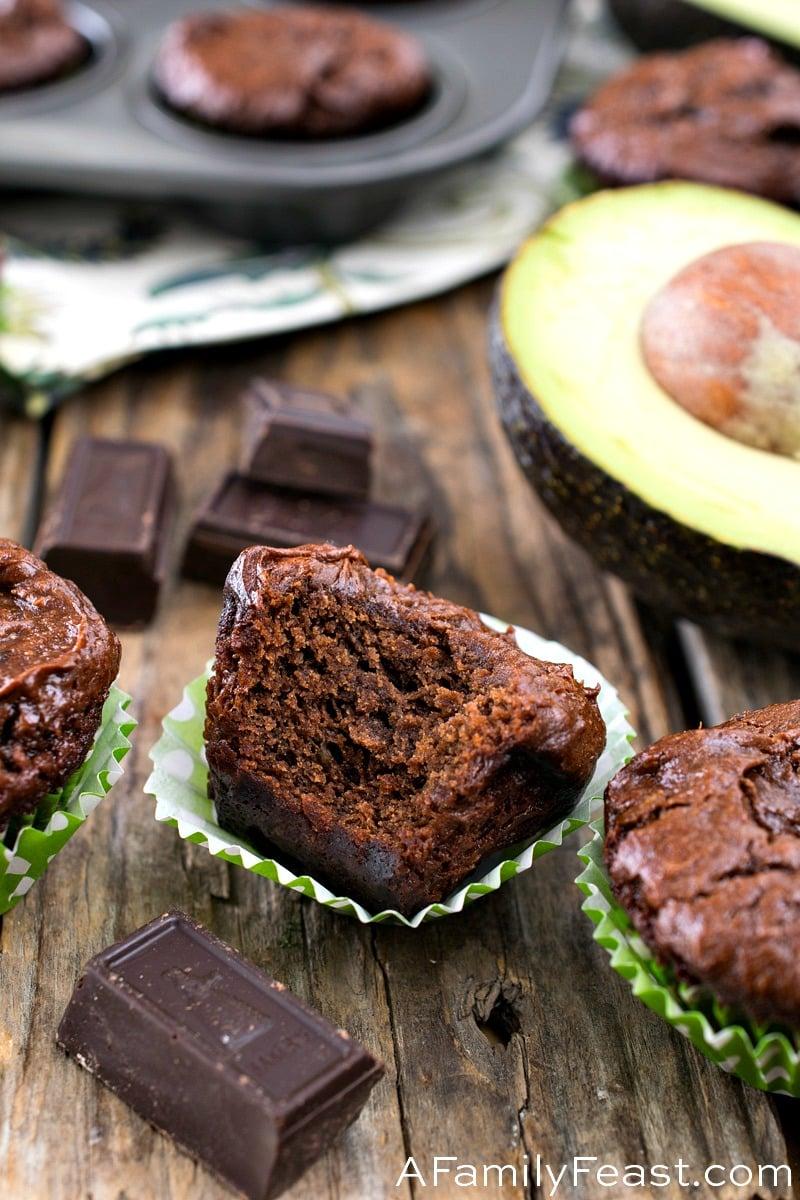 Chocolate Avocado Brownie Bites