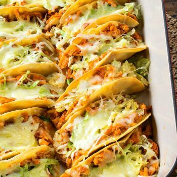 Easy Rotisserie Chicken Tacos - A Family Feast