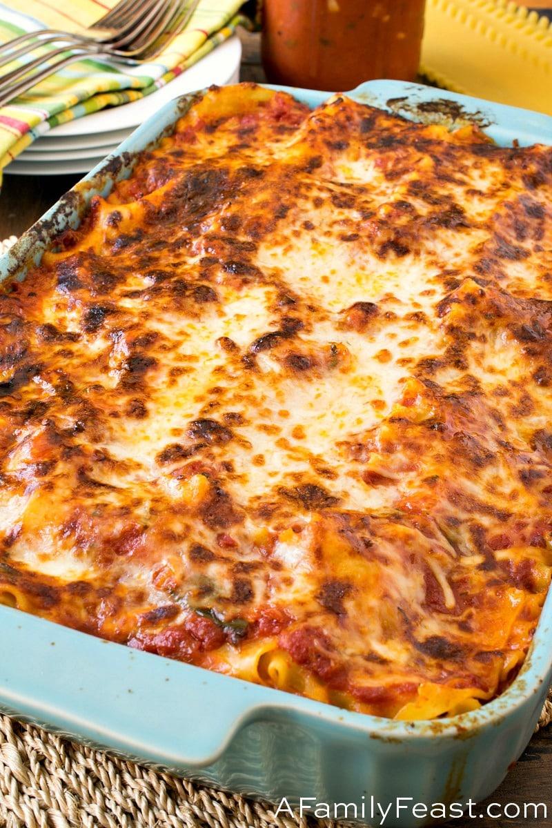 Meatball Lasagna
