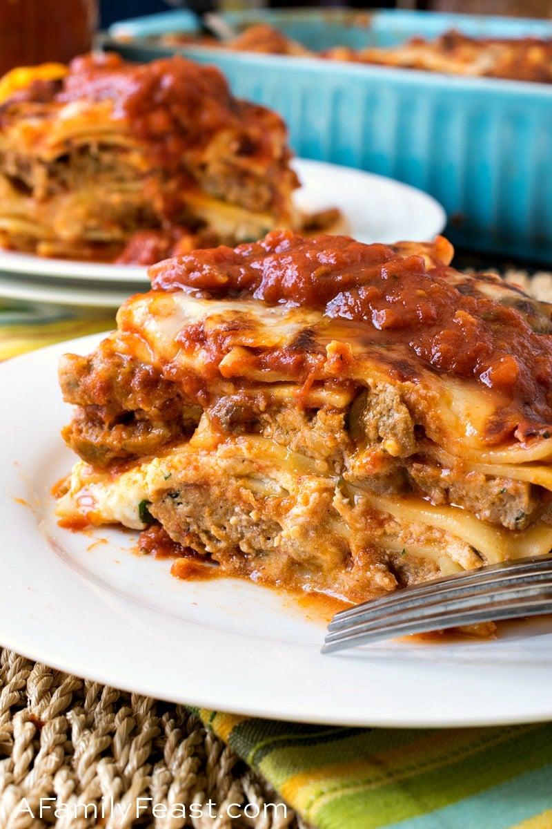 Meatball Lasagna A Family Feast