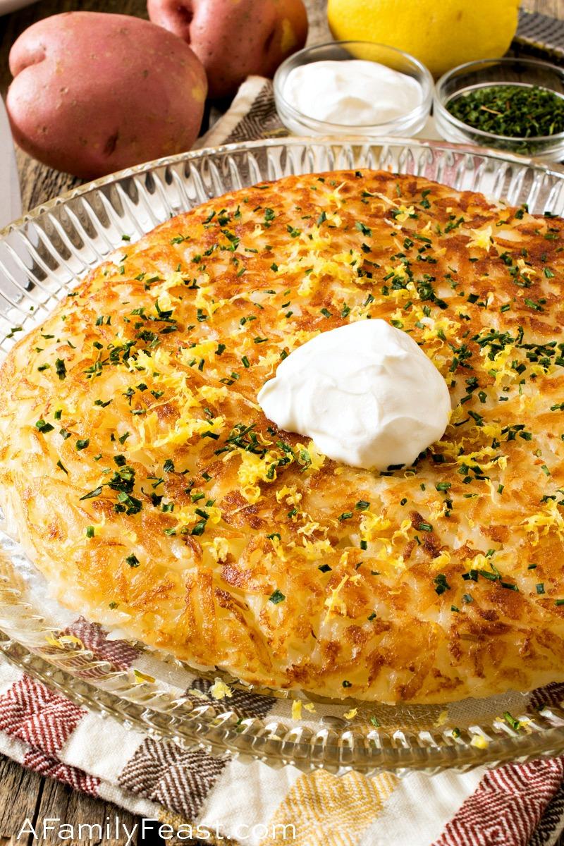 Potato Roesti - A Family Feast
