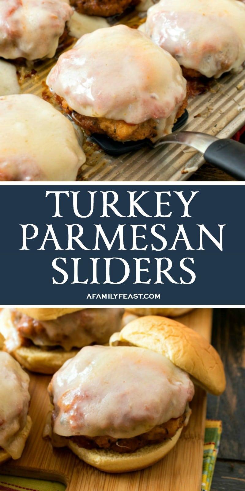 Turkey Parmesan Sliders