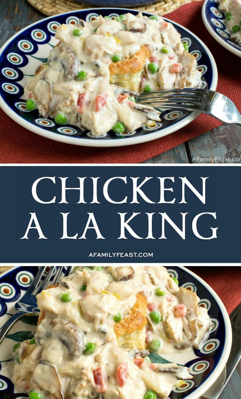 Chicken a la King - A Family Feast