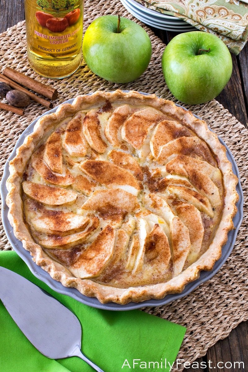Apple Custard Pie A Family Feast