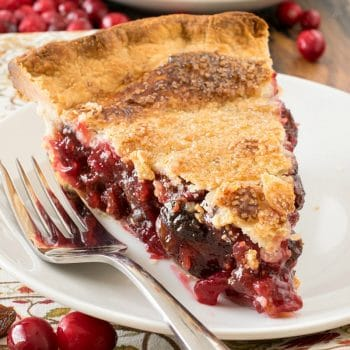 Cranberry Raisin Pie - A Family Feast