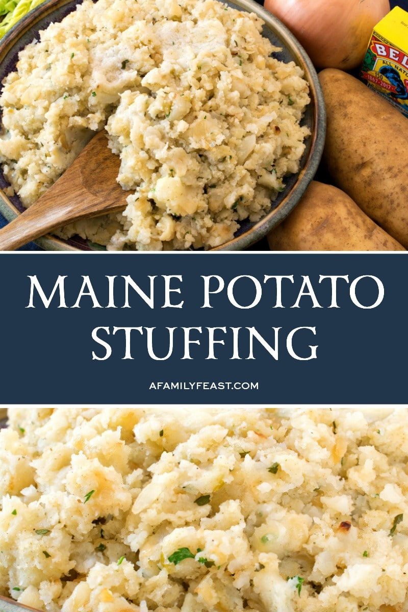 Maine Potato Stuffing