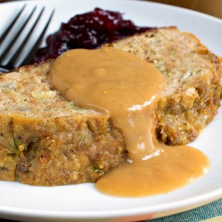 Turkey Stuffing Meatloaf