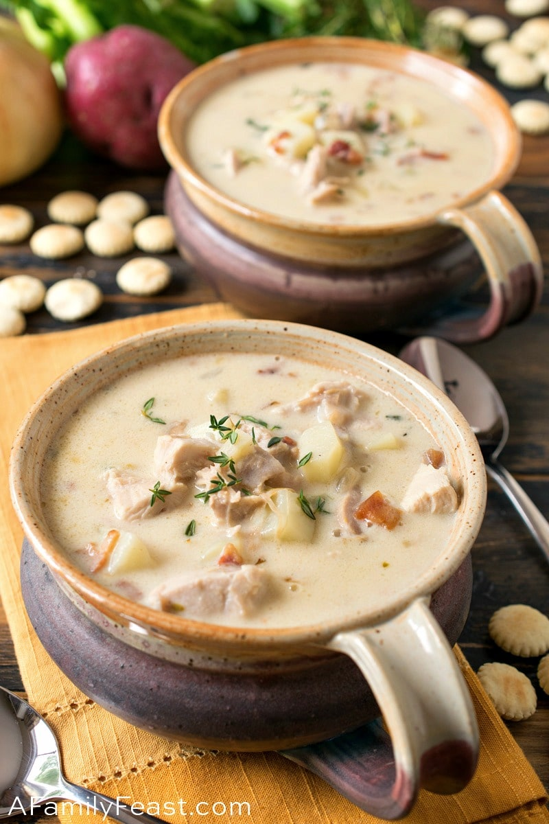 New England Turkey Chowder