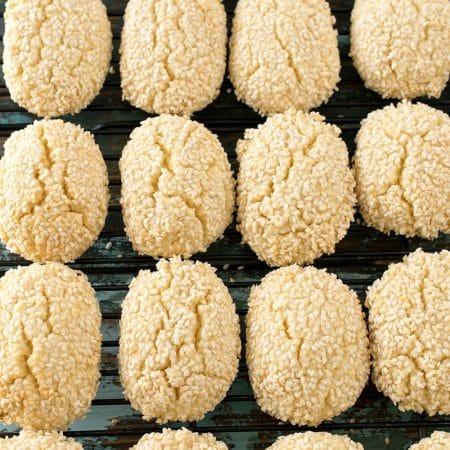 Italian Sesame Seed Cookies