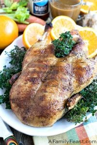 Orange Ale Roasted Duck