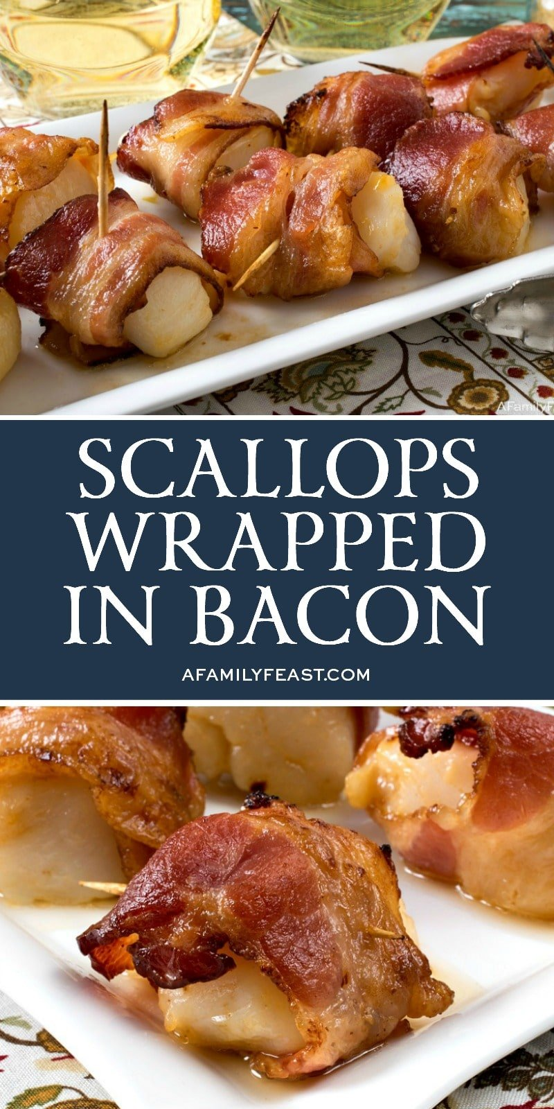 Scallops Wrapped in Bacon - A Family Feast