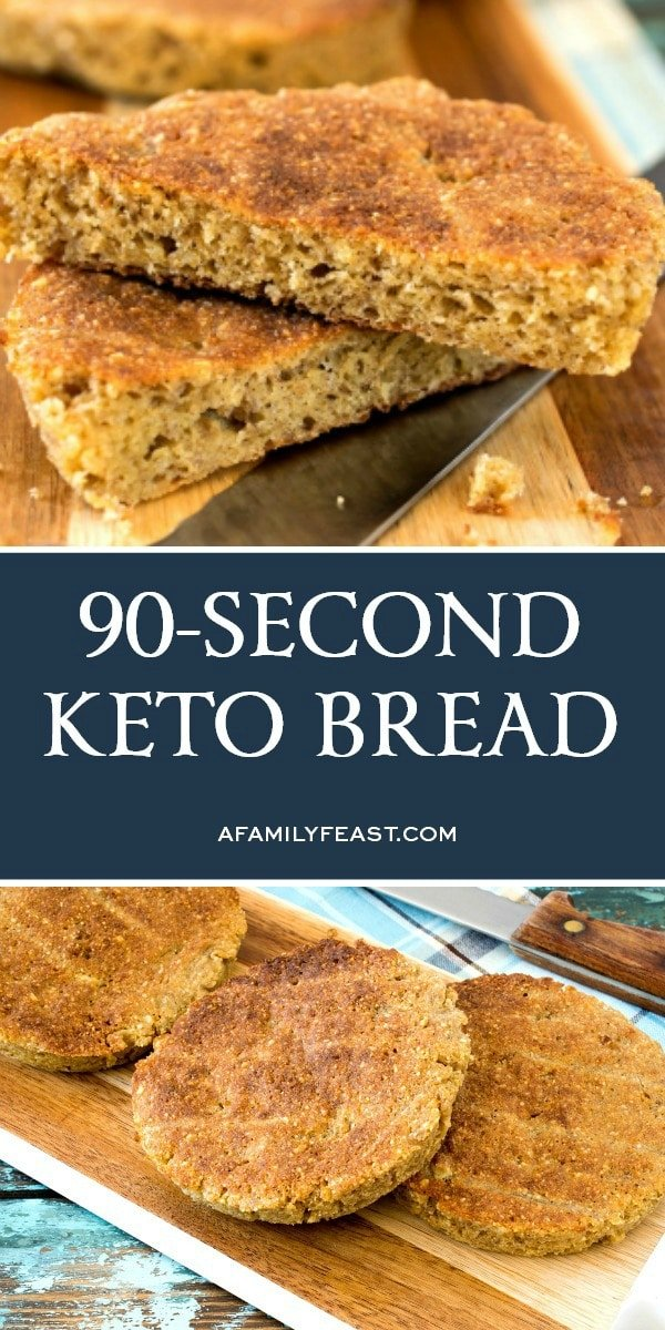 The Best 90-Second Keto Bread
