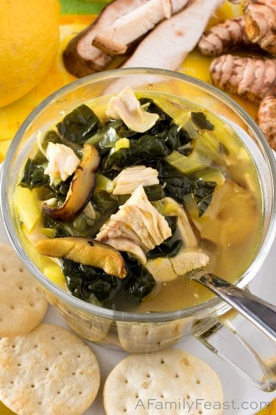 Flu Buster Chicken Soup