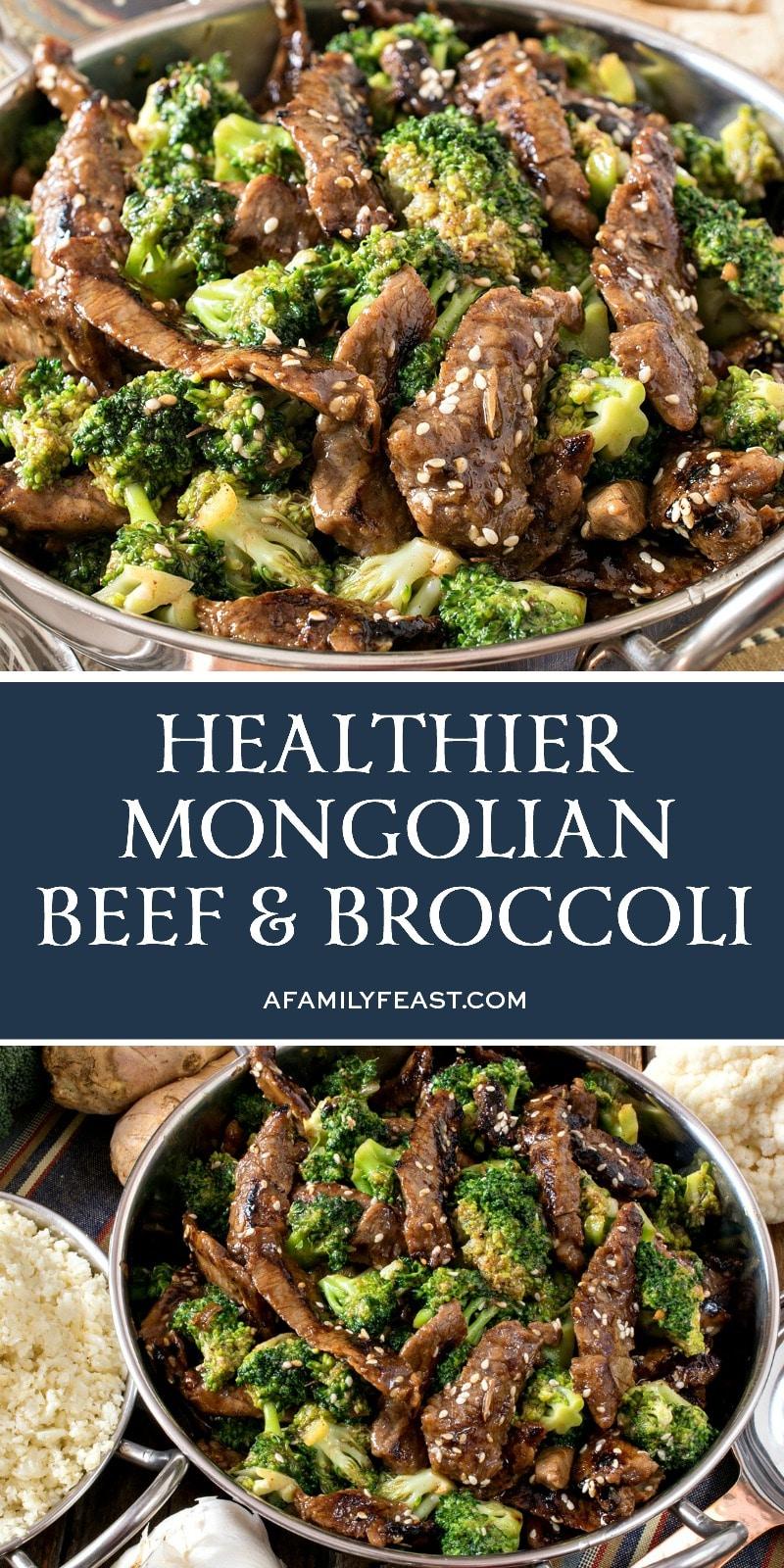 Healthier Mongolian Beef and Broccoli