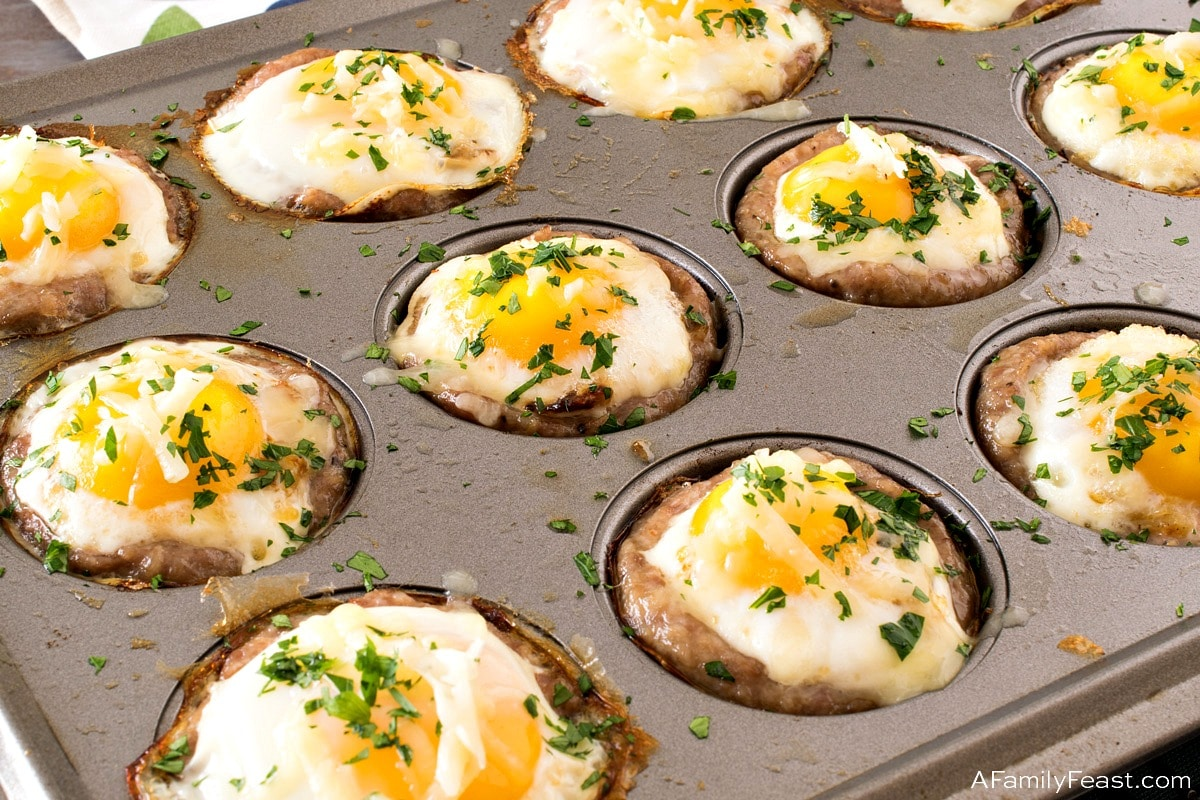 Baked Sausage Egg Cups