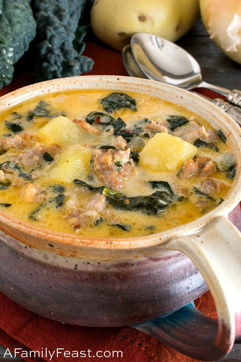 Better Than Olive Garden Zuppa Toscana A Family Feast