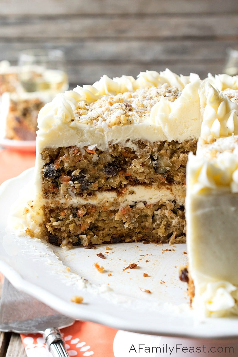 Jack S Carrot Cake A Family Feast