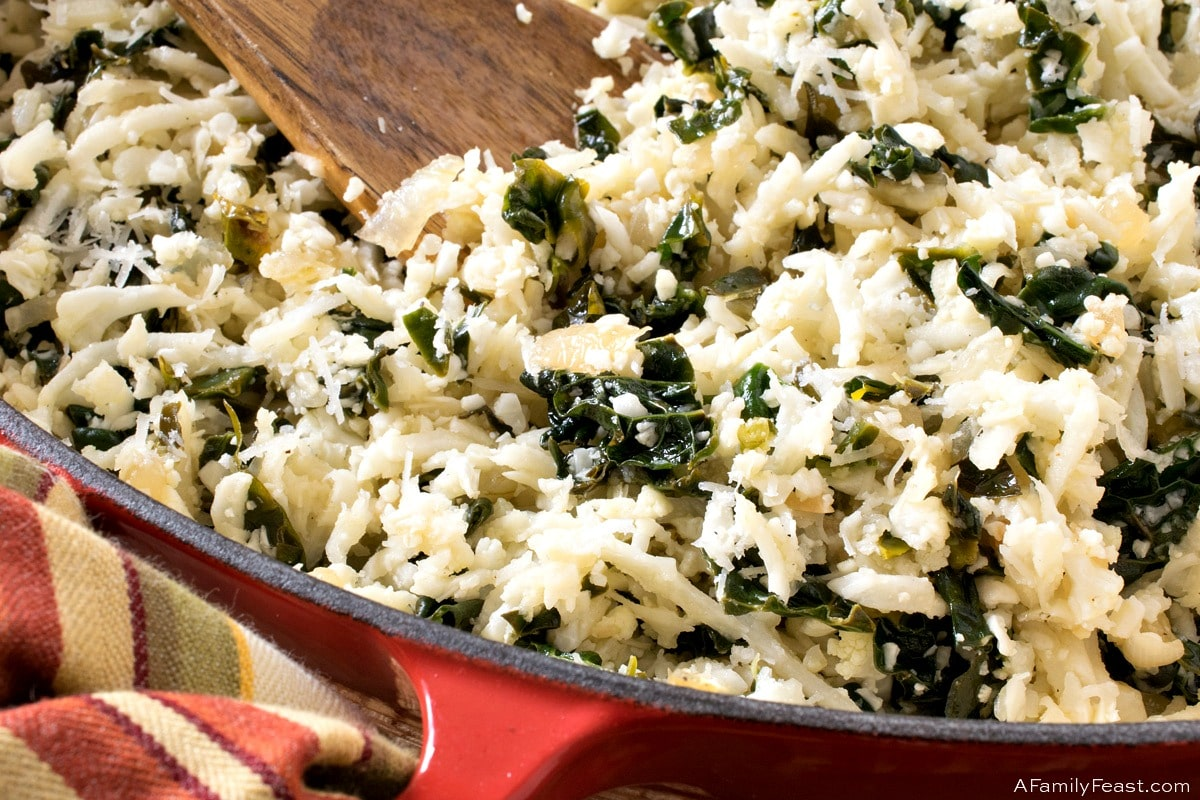 Riced Cauliflower & Tuscan Kale
