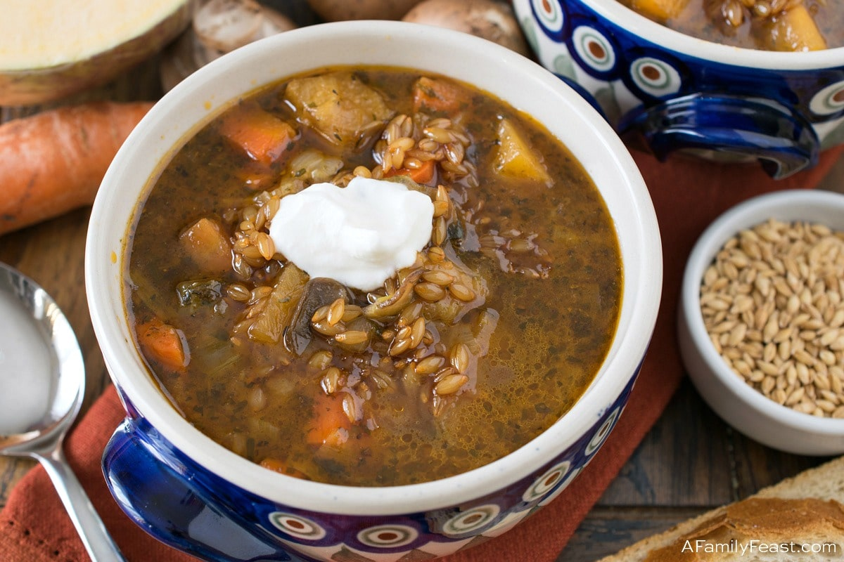 Polish Barley and Vegetable Soup