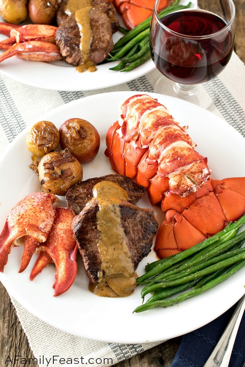 Turf And Surf >> Surf And Turf A Family Feast