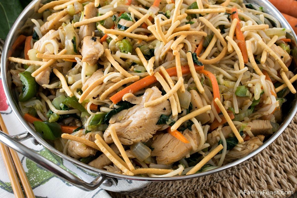 Healthier Chicken Chow Mein